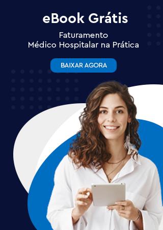Banner do ebook faturamento médico hospitalar na prática