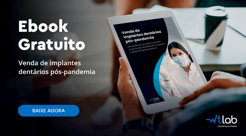 Ebook gratuito Venda de implantes dentários pós-pandemia